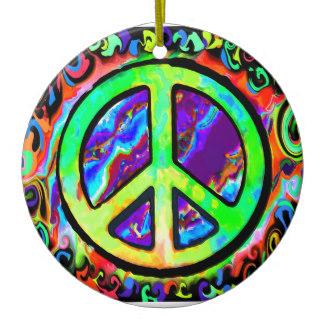 324x324 Peace Sign Ornaments Amp Keepsake Ornaments Zazzle