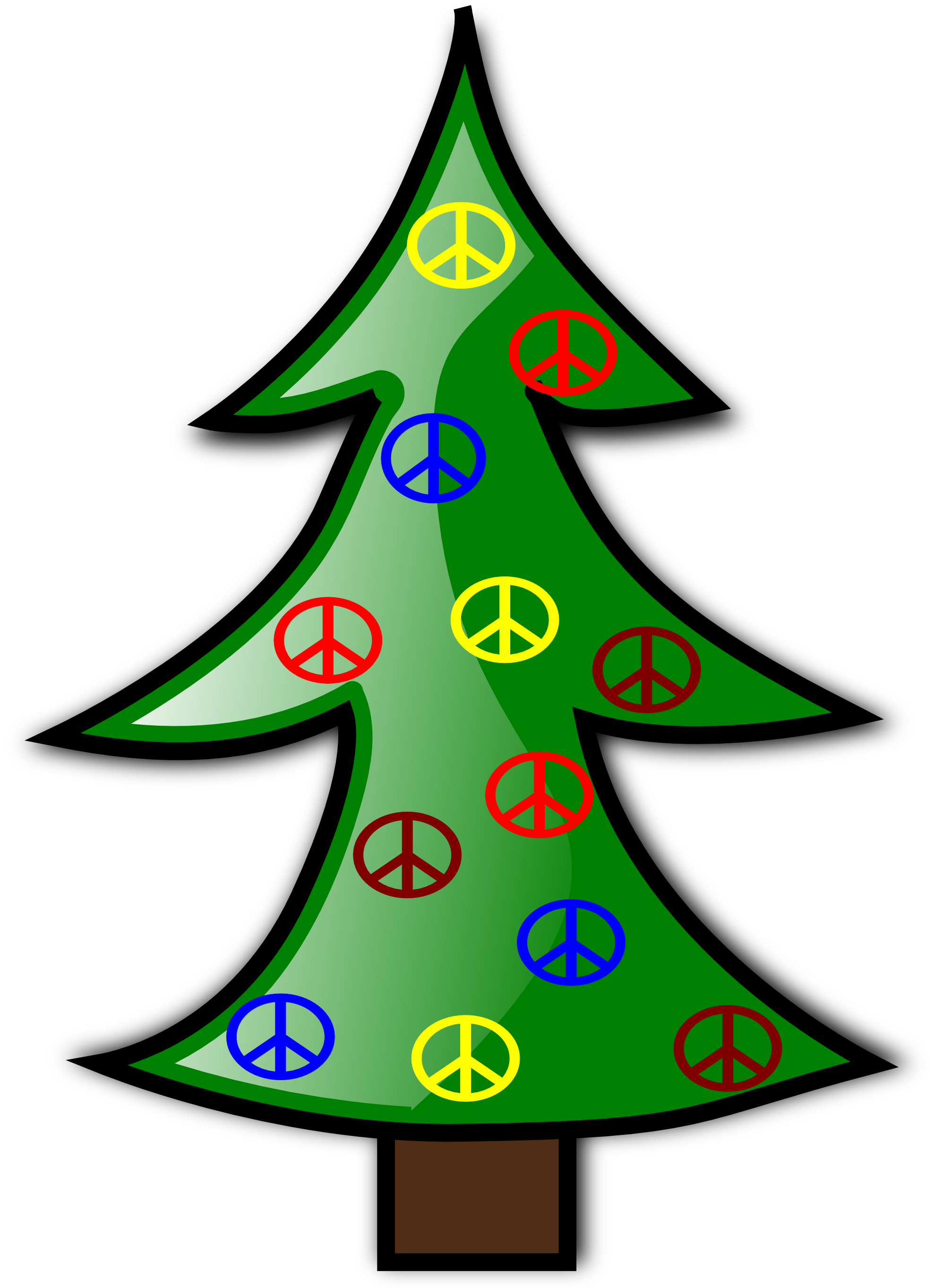 Christmas peace sign free download best christmas peace sign on 1979x2726 clip art tree christmas xmas peace symbol sign svg biocorpaavc