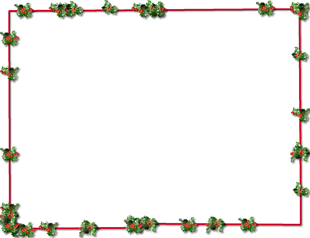 1024x787 christmas christmas frames clip art transparent frame