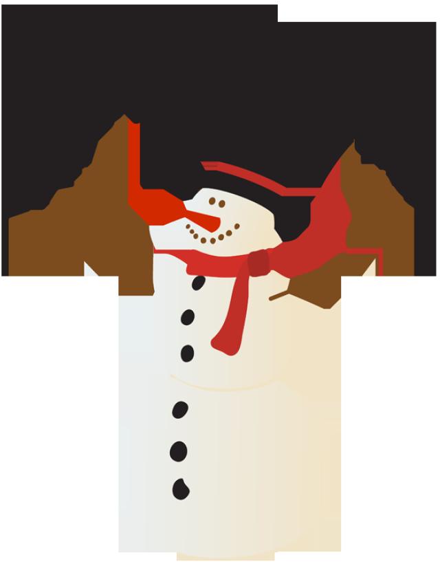 640x823 Merry Christmas Clipart Snowman