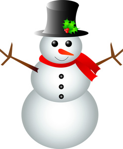 248x300 Christmas Snowman Clipart