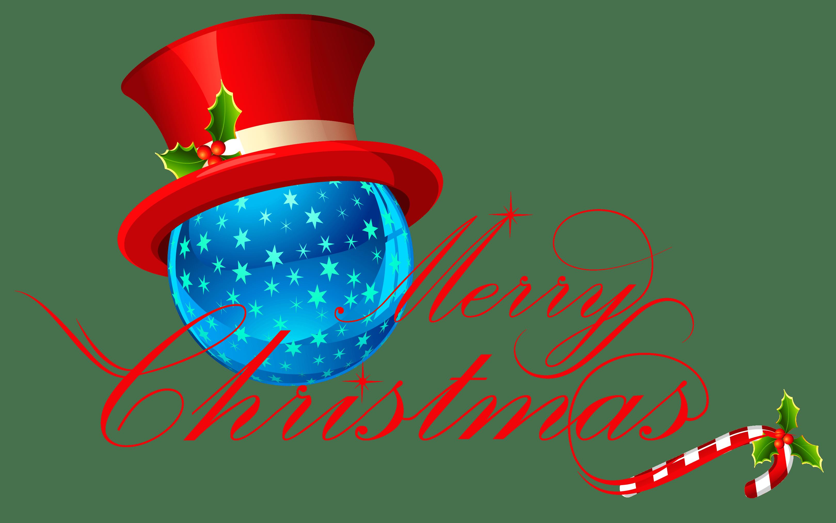 3239x2026 Merry Christmas Playful Text Transparent Png