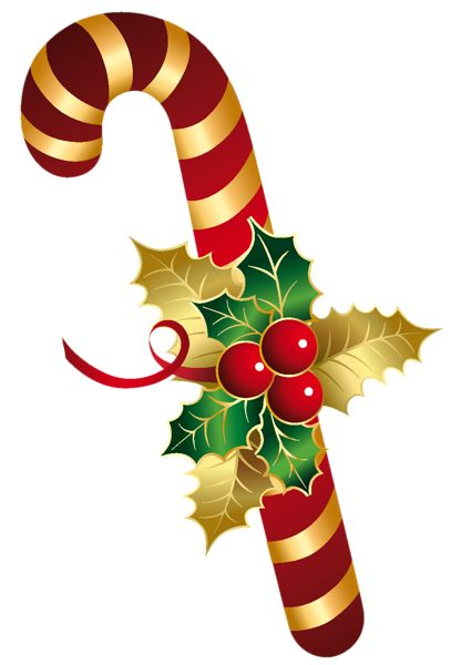 407x600 Merry Christmas Clipart Candy Cane