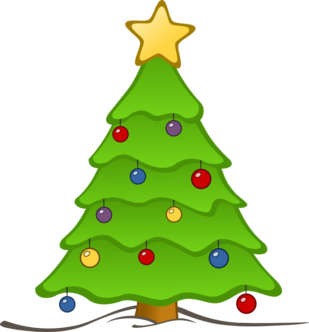 999x1072 German Christmas Tree Clipart Png
