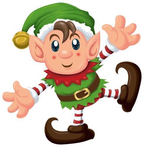 491x500 Christmas Elf Clipart