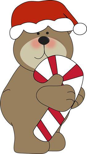 Christmas Polar Bear Clipart