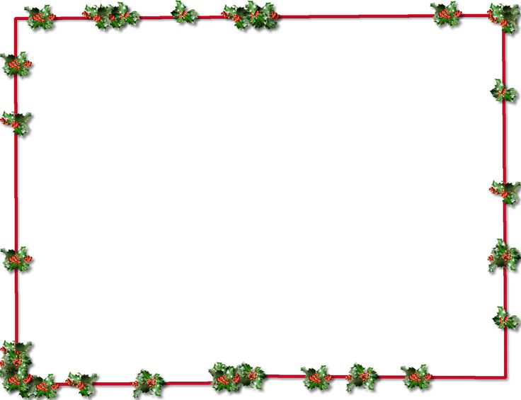 736x565 Christmas Present Borders And Frames Halloween Amp Holidays Wizard
