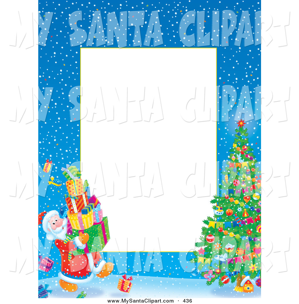 1024x1044 Christmas Tree Borders Clipart