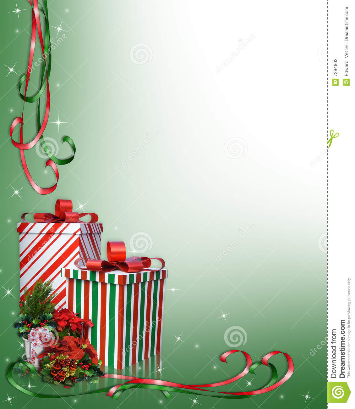 1130x1300 Holley Clipart Christmas Presents Border