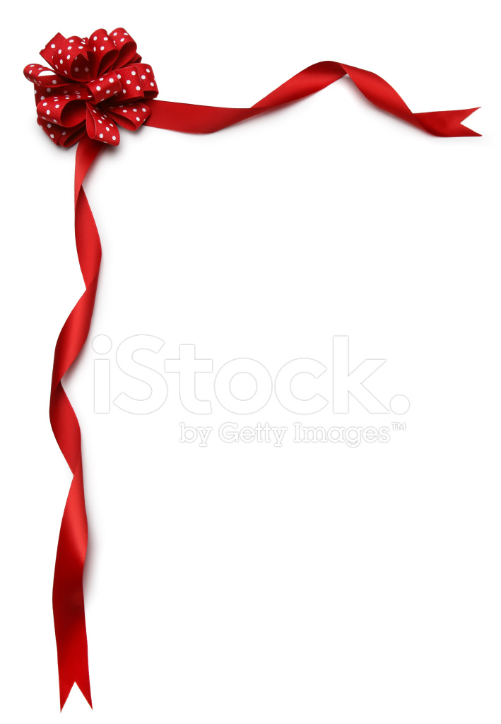 709x1024 Red Ribbon Border Stock Photos