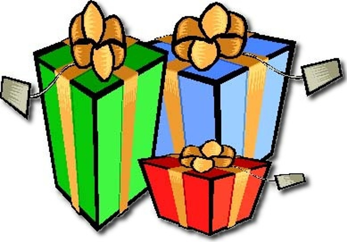1215x846 Christmas Present Animated Clipart