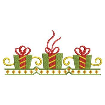 350x350 Christmas Gift Border Merry Christmas And Happy New Year 2018