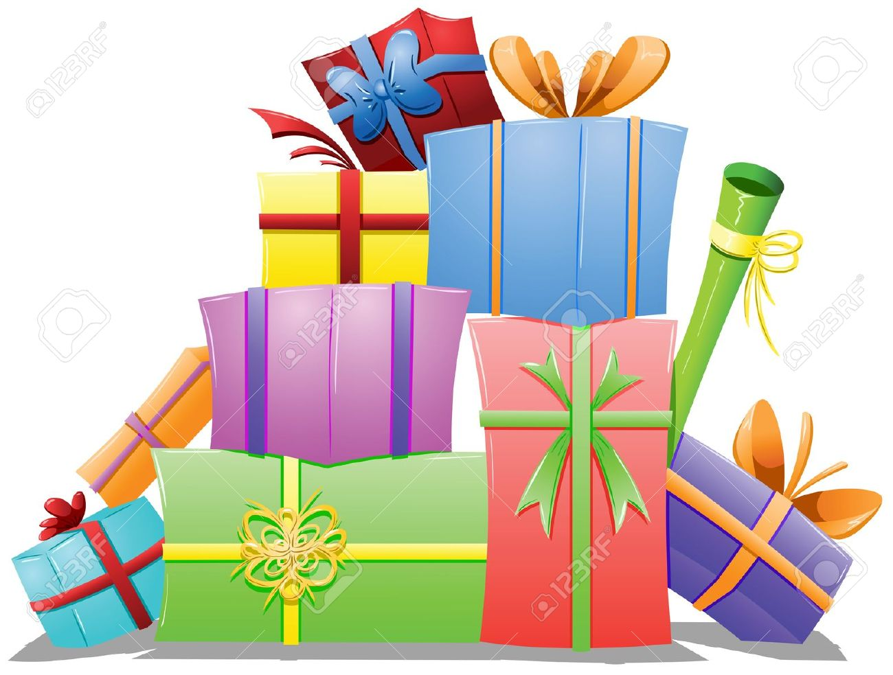 1300x983 Gift Clipart Stacked