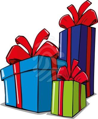329x400 Christmas Present Clip Art
