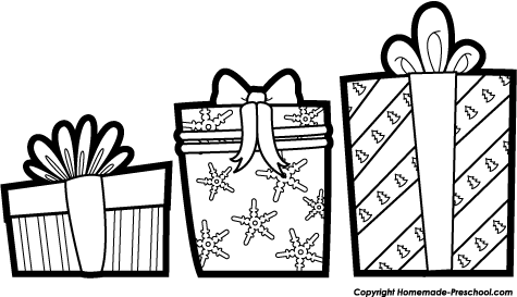 475x273 Christmas Black White Christmas Present Clipart Black
