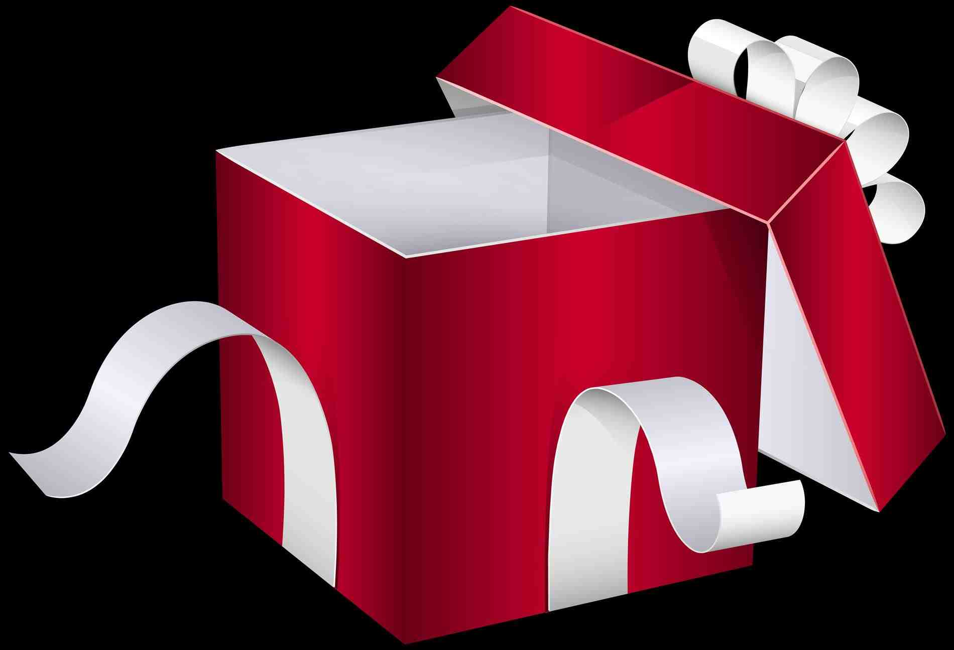 1900x1295 Open Christmas Present Clipart Cheminee.website