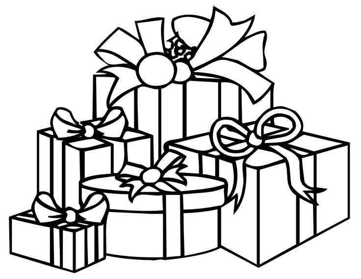 736x568 Best Christmas Present Coloring Pages Ideas