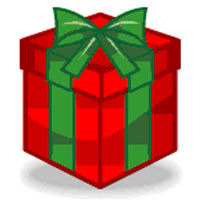 200x200 Christmas Presents Clipart Bord
