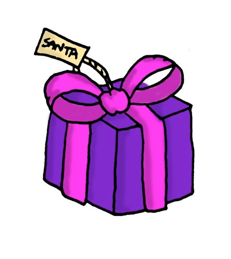 455x510 Christmas Present Clipart