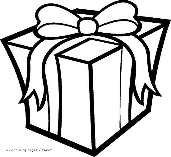 550x505 Best Christmas Present Coloring Pages Ideas