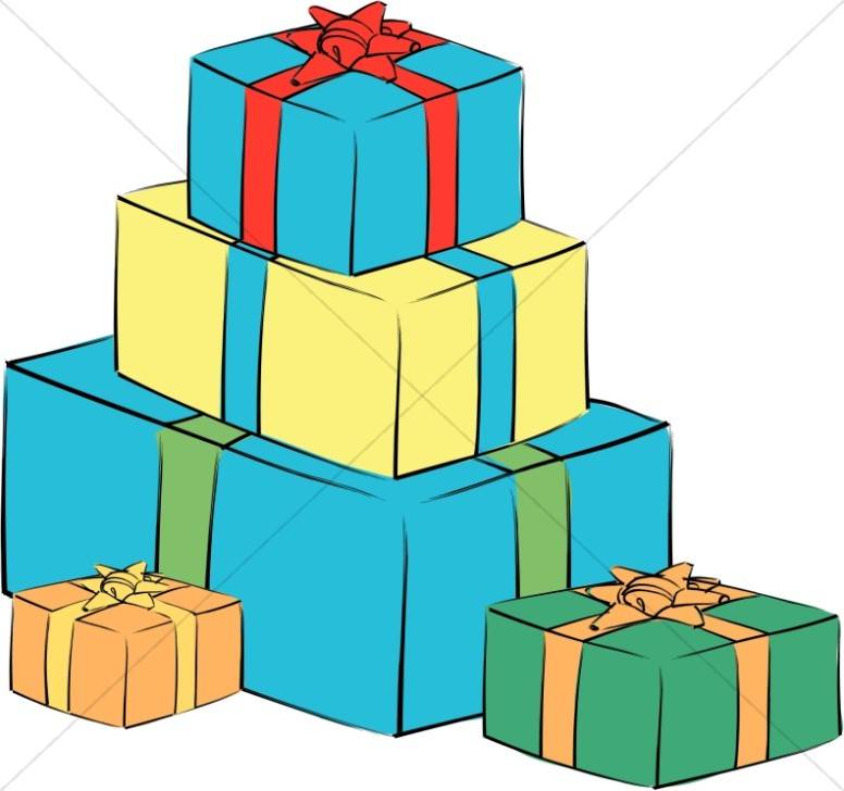 776x728 Graphics For Stack Christmas Presents Graphics