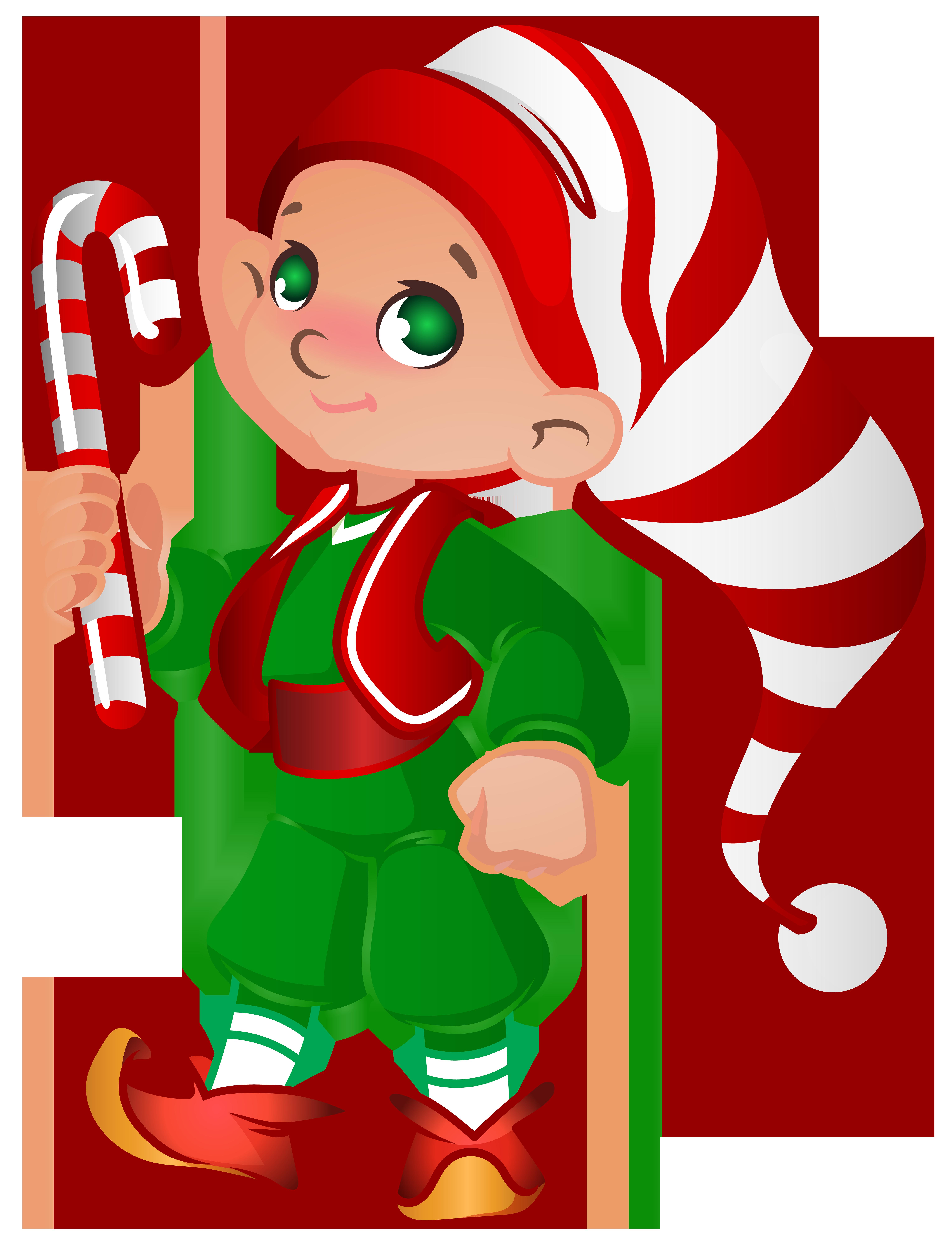 6116x8000 Elf Clipart Santa His Elf