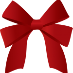 150x150 Red Christmas Bow Clipart Christmas Red Bow Free Download Clip Art