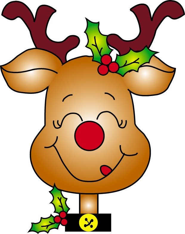 621x785 Illustration Of Christmas Reindeer Clipart Clipartmonk