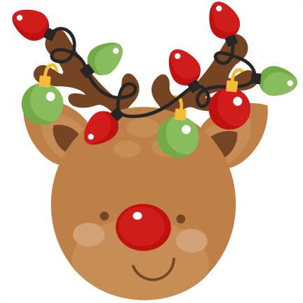 432x432 Reindeer Clipart Adorable Pencil And In Color Reindeer