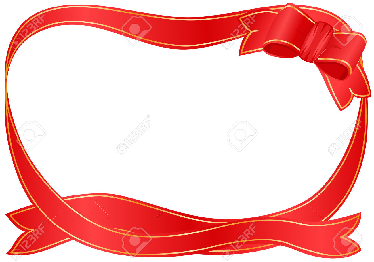 1300x910 frame christmas ribbon border merry christmas amp happy new year arts