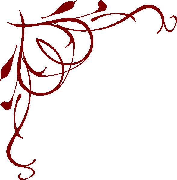 588x597 swirl christmas ribbon clip art merry christmas amp happy new year