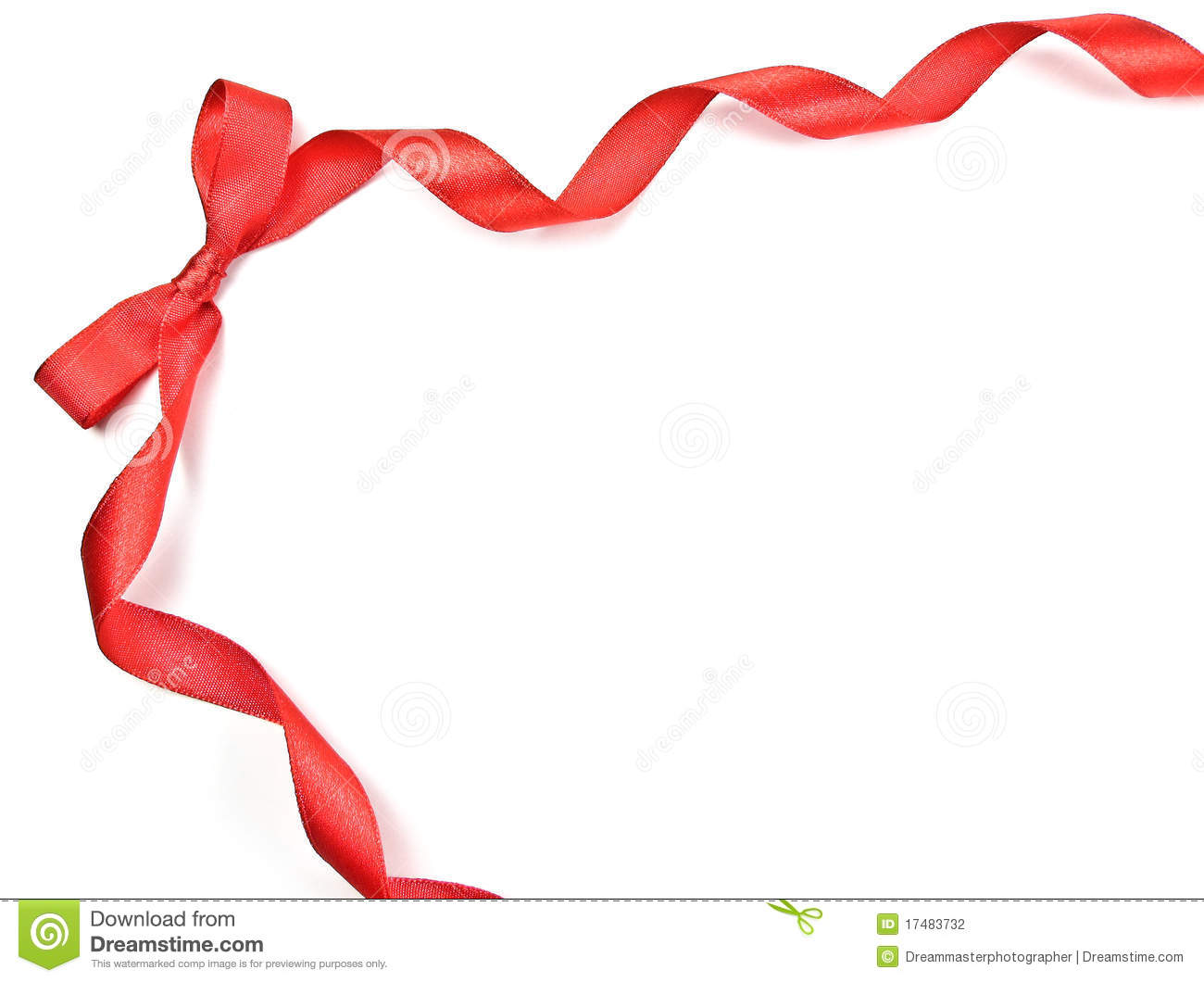 Christmas Ribbon Border Clipart Free Download Best