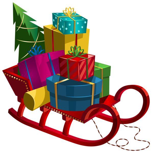 Christmas Sleigh Clipart