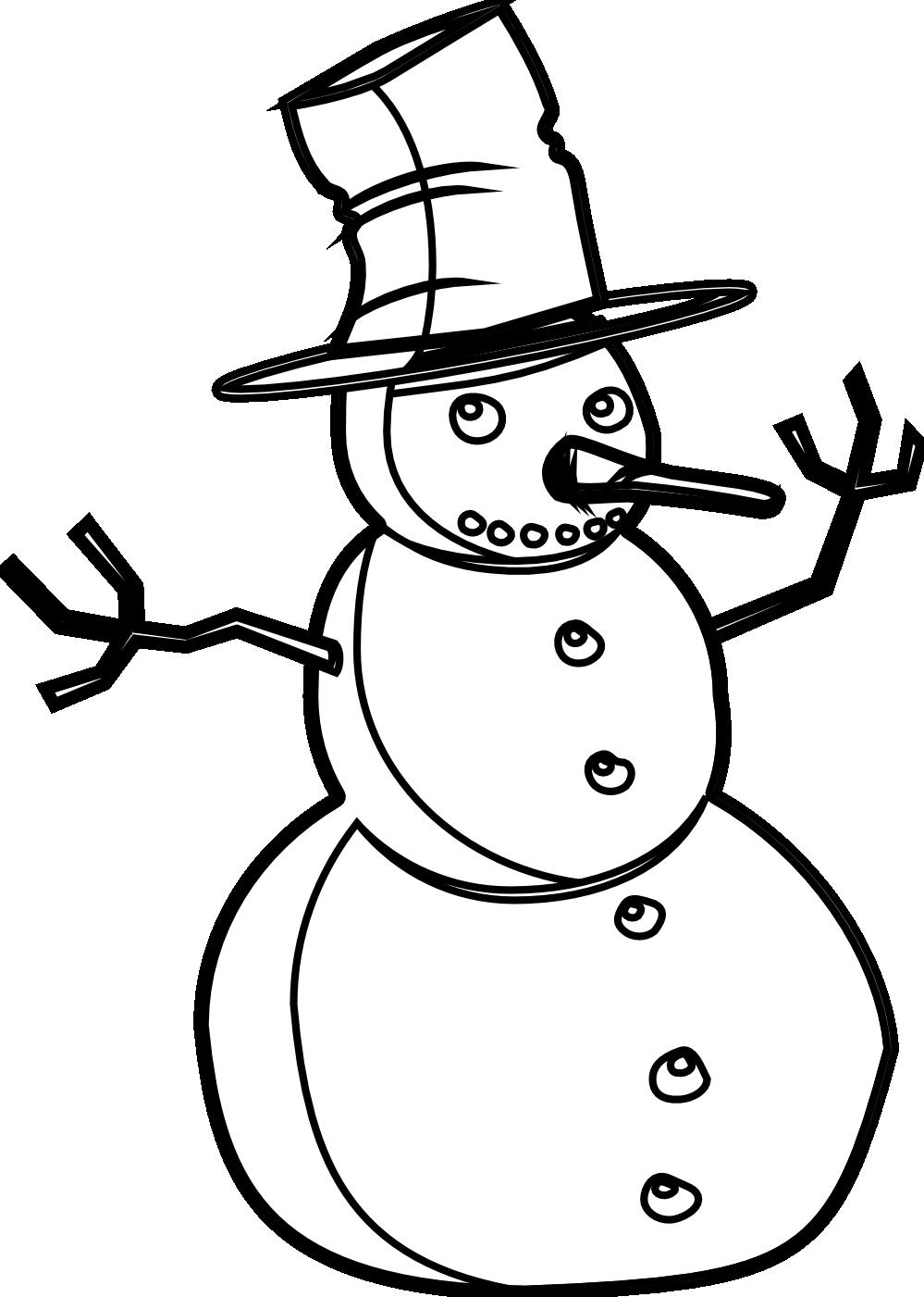 999x1401 Snowman Black And White Snowman Black And White Christmas T