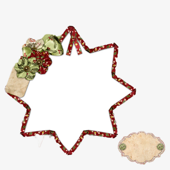 650x651 Christmas Star Of David Border, Christmas Border, Christmas Red