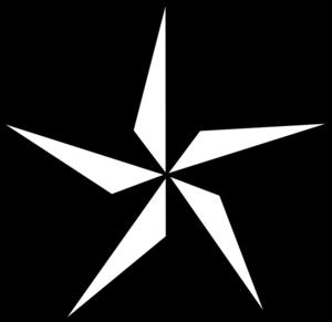 300x291 Texas Star Clip Art