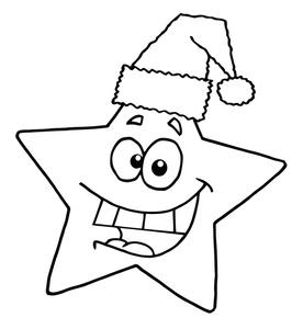 276x300 Christmas Star Clip Art Clipart Panda