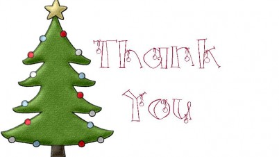 402x226 Christmas Thank You Thank You Free Christmas Thank Clipart Images