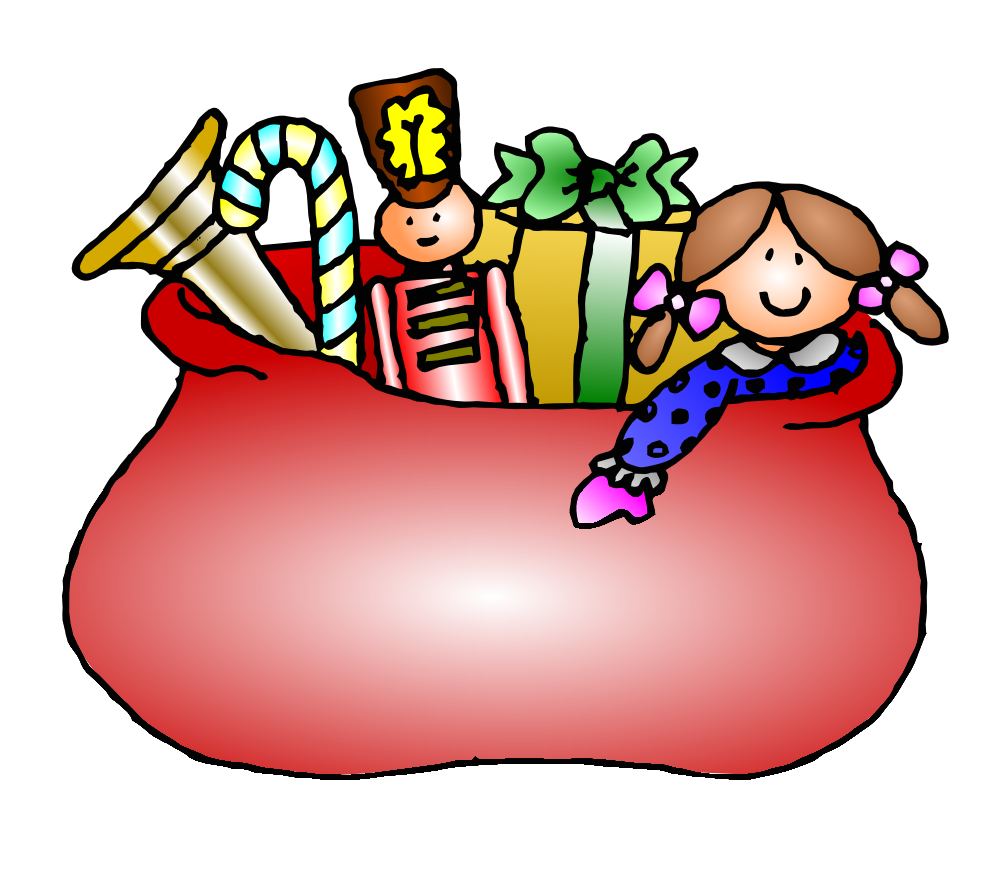 999x872 Free Bag Of Christmas Toys Clip Art