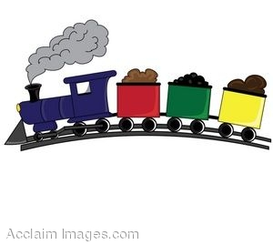 300x269 Clip Art Of A Toy Train
