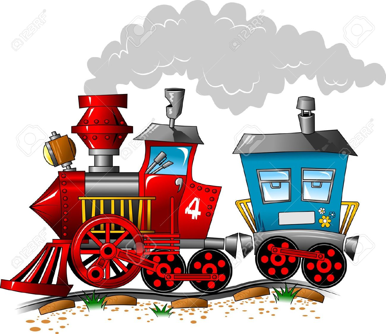 1300x1126 Train Cartoon Images, Stock Pictures, Royalty Free Train Cartoon