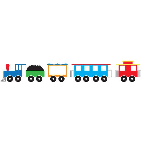 500x500 Train Clipart Long Train