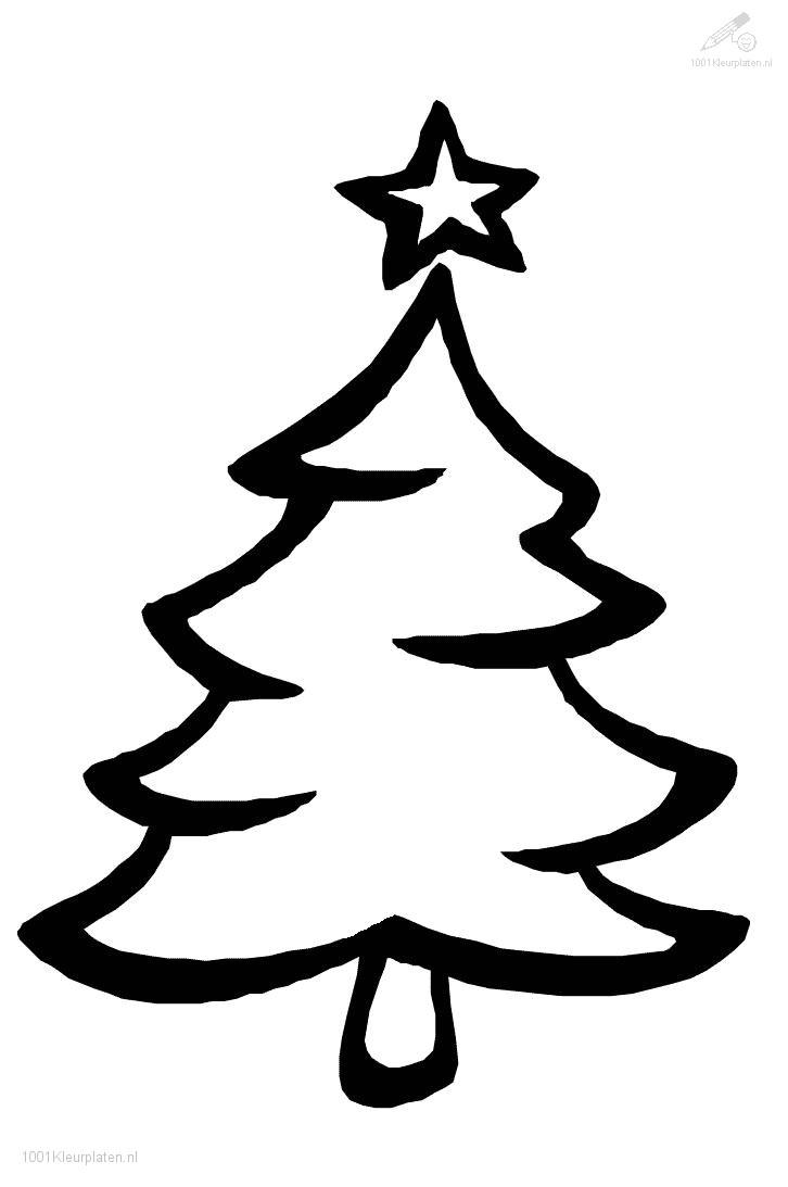 726x1093 outline of christmas tree clip art