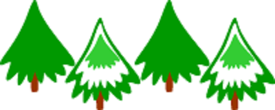 400x160 Christmas Tree Farm Clipart
