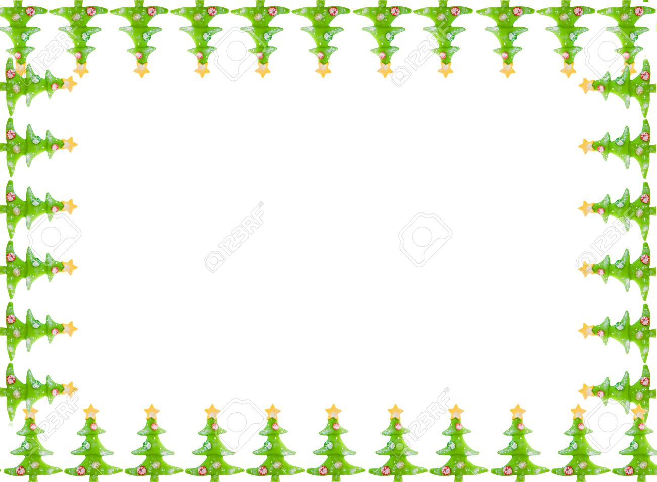 1300x953 Decorative Christmas Tree Border Merry Christmas Amp Happy New