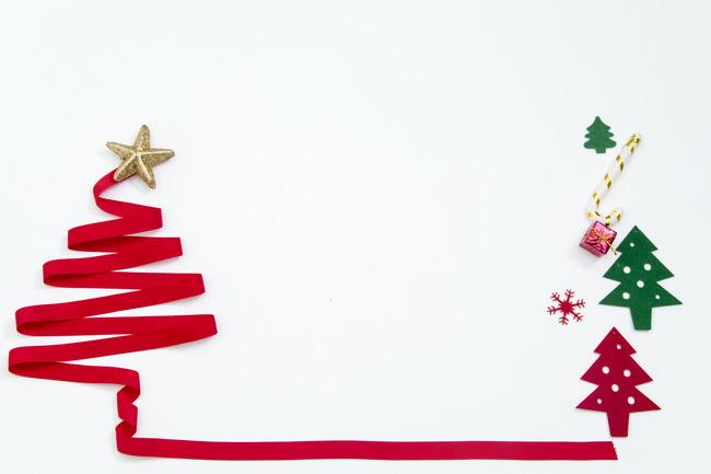 650x433 Christmas Tree Border Background Material, Christmas Tree, Frame