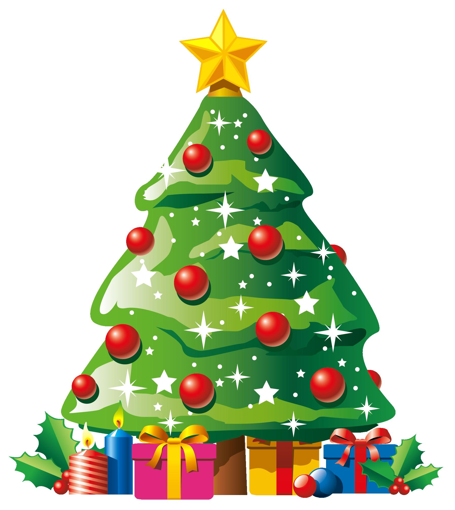 1796x2010 Christmas Ornaments Clipart Christmas Present Border