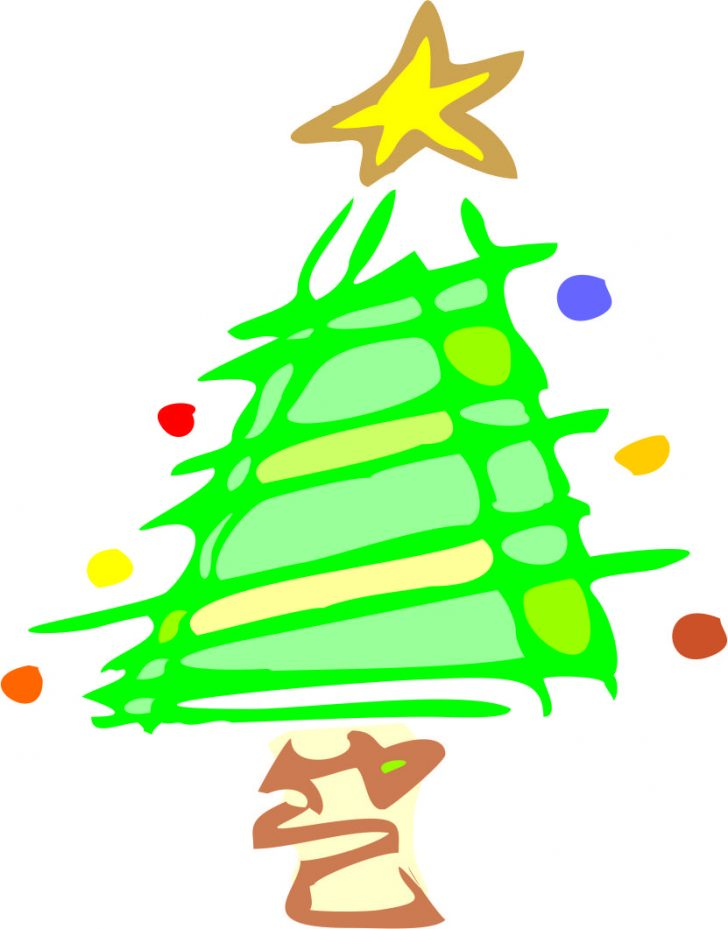 728x929 Christmas ~ Images Of Christmas Tree Cartooncartoon Pictures