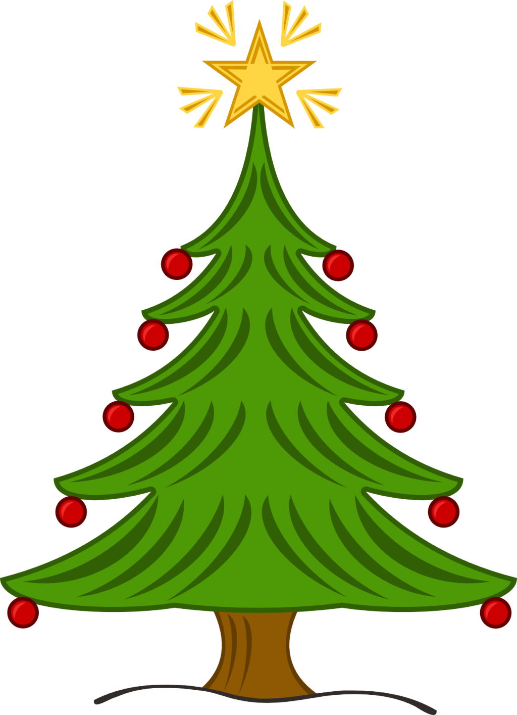 1024x1415 Christmas ~ Christmas Tree Clip Art Clipart Library Aibjredgt