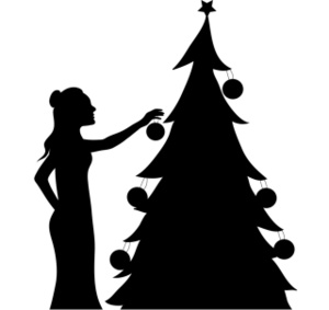300x283 Christmas Tree Clipart Christmas Decoration